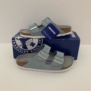 NEW! Women's Birkenstock Arizona Soft Footbed Sky